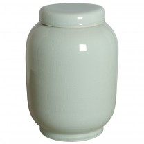 Tall Porcelain Lantern Ginger Jar