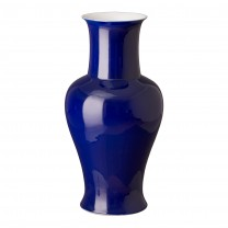 Large Porcelain Fish Tail Vase