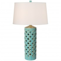 Tall Cylinder Vase Lamp