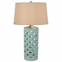 Criss Cross Umbrella Stand Lamp
