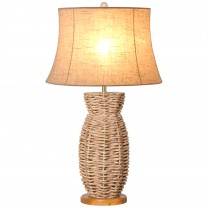 Water Hyacinth Vase Lamp