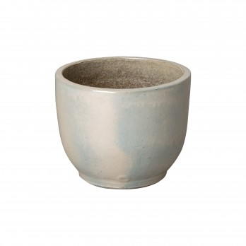 11 in. Round Ceramic Planter