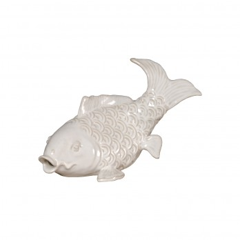 Swimming Koi Statuette