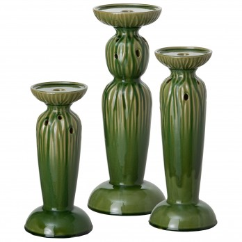 Set of 3 Sequoia Candle Sticks