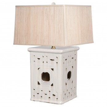 Lattice Garden Seat Lamp