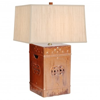 Square Garden Stool Lamp