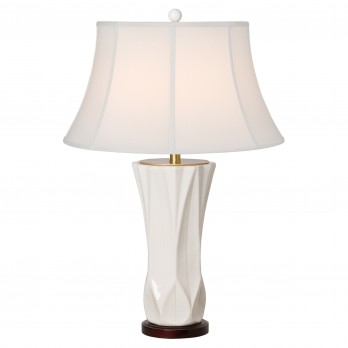 Pleated Vase Lamp