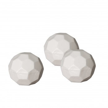 Set of 3 Medium Geodesic Balls