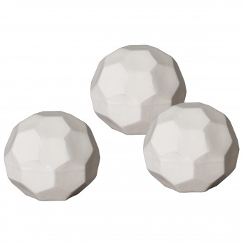 Set of 3 Large Geodesic Balls