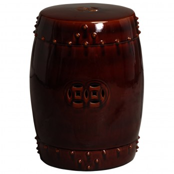Large Drum Garden Stool/Table