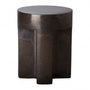21 in. Large TX Ceramic Garden Stool/Table