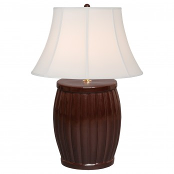 Fluted Garden Stool Lamp