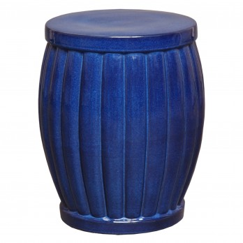 Large Fluted Garden Stool/Table