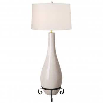 Long Neck Bottle Floor Lamp