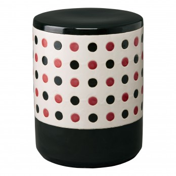 Polka Dot Garden Stool/Table