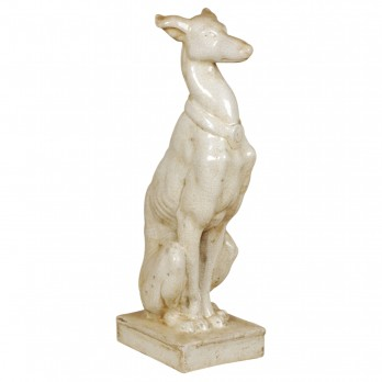 Whippet Statue