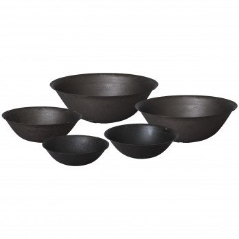 Set of 5 Iron Pans