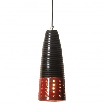 Conical Ceramic Pendant