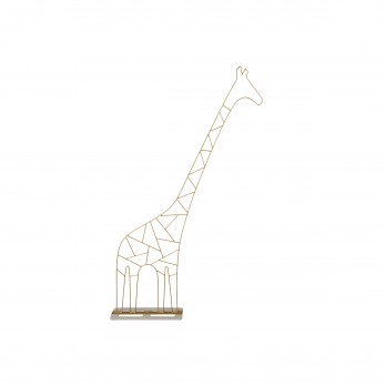 Small Metal Giraffe