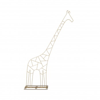 Medium Metal Giraffe