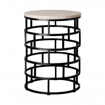 Mason Metal Stool/Table