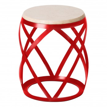 Knox Metal Stool/Table