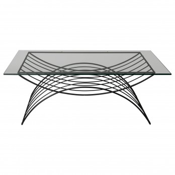 X Metal Coffee Table