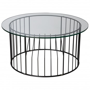 Window Metal Coffee Table