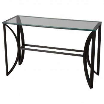31 in. Rectangle Archer Metal Sofa Table