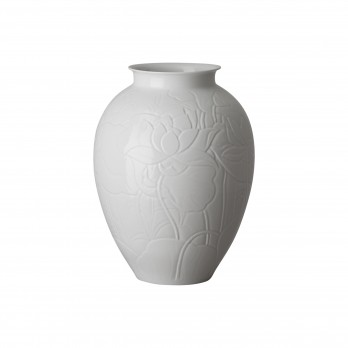 Lotus Engraved Vase