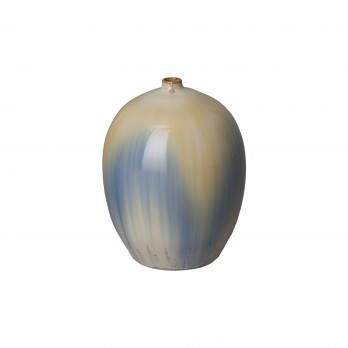 12 in. Melon Ceramic Vase