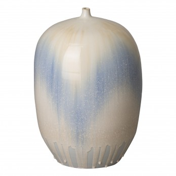19.5 in. Melon Ceramic Vase