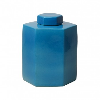 Hexagon Tea Canister