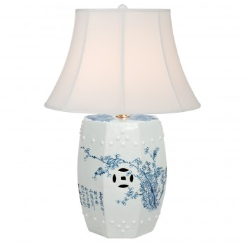Four Seasons Octagonal Garden Stool Lamp