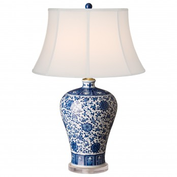 Porcelain Meiping Vase Lamp