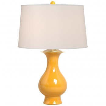 Porcelain Baluster Vase Lamp