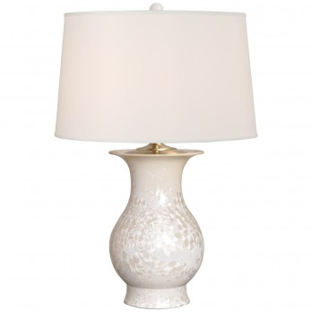 Large Porcelain Baluster Vase Lamp