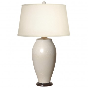 Tall Porcelain Flair Vase Lamp