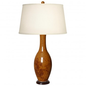 Porcelain Bulb Vase Long Neck Lamp