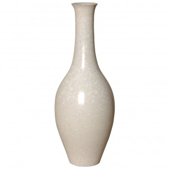 Porcelain Bulb Vase Long Neck