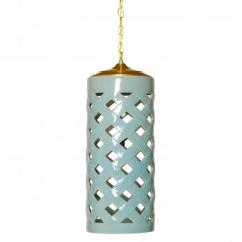 Criss Cross Umbrella Stand Pendant