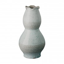 Tall Scallop Vase