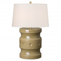 Spindle Garden Stool Lamp