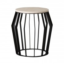 Billie Metal Stool/Table