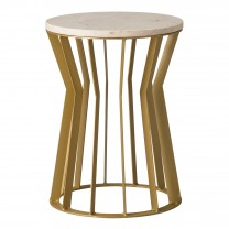 Millie Metal Stool/Table
